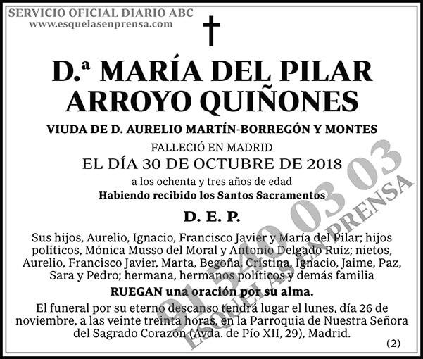 María del Pilar Arroyo Quiñones